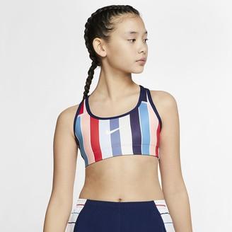 Nike Big Kids (Girls) Reversible Sports Bra