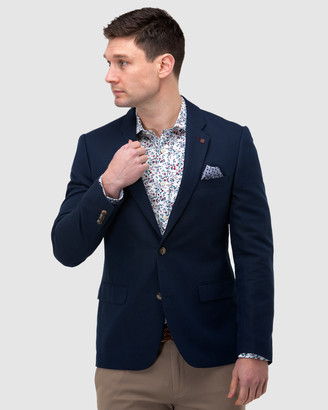 Brooksfield Linen Blend Textured Blazer
