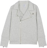 Little Karl Marc John Bertu Cotton Biker Jacket