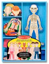 Melissa & Doug Magnetic Human Body Anatomy Play Set and Storage Tray - 24pc