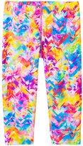 Speedo Girls' Printed Capri Swim Leggings (7yrs16yrs) - 8137123