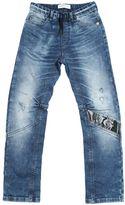 John Galliano Cotton Denim Stretch Jeans
