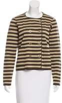 Sonia Rykiel Striped Double-Breasted Jacket w/ Tags