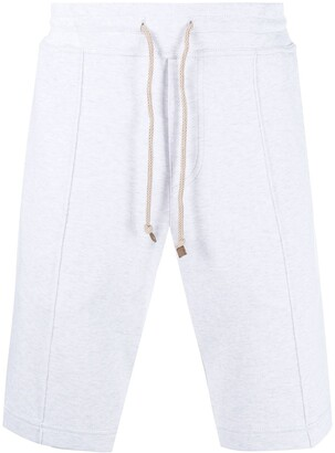 Brunello Cucinelli Cotton Track Shorts