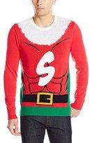 Alex Stevens Men's Super Santa Ugly Christmas Sweater