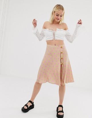 Résumé Resume Ono polka dot mini skirt