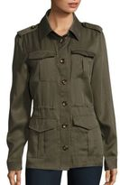 Saks Fifth Avenue Four Pocket Army Jacket