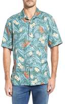 Tommy Bahama Teresina Trellis Classic Fit Silk Blend Camp Shirt