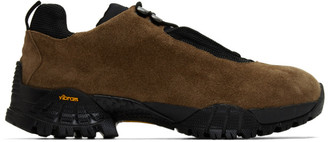 Alyx Brown Suede New Hiking Sneakers
