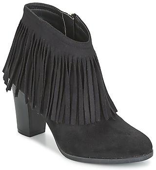 Elue par nous VOPBIL women's Low Ankle Boots in Black