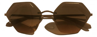 Bvlgari Gold Metal Sunglasses