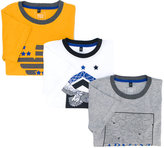 Armani Junior chest logo t-shirt