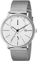Skagen Men's SKW6240 Hagen Stainless Steel Mesh Watch