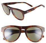 Salvatore Ferragamo Men's 54Mm Sunglasses - Tortoise