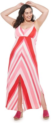 Candies Juniors' Candie's Halter Maxi Dress with Front Slit