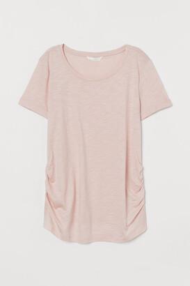 H&M MAMA Cotton-blend T-shirt