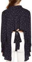Bardot Frill Backless Shirt