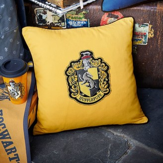 Pottery Barn Teen HARRY POTTER House Patch Hufflepuff Pillow Cover