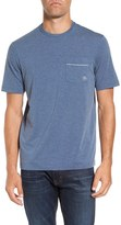 Travis Mathew Clay Solid Stretch Crew Neck Tee
