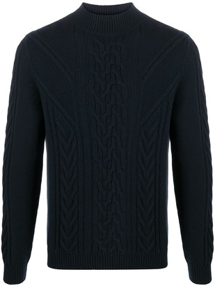 Malo Cable Knit Jumper