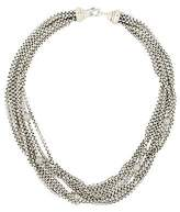 David Yurman Pavé Bead Multi-Strand Necklace