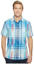 Tommy Bahama Can't Stop Ikat Camp Shirt Men's Clothing