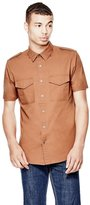 GUESS Conway Poplin Slim-Fit Shirt