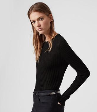 AllSaints Addie Crew Sweater
