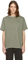 Alexander Wang Green Sun Faded T-Shirt