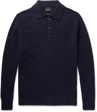 Howlin' Ghost Pressure Brushed-Wool Polo Shirt