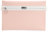 MM6 MAISON MARGIELA Women's Logo Clutch Bag Ballerina Rose