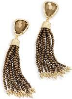 Kendra Scott Blossom Statement Tassel Earrings