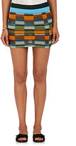 Missoni Women's Checked Mixed-Knit Miniskirt