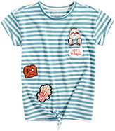 Jessica Simpson Olivia Patches Pocket T-Shirt, Big Girls (7-16)