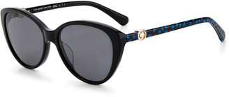 Kate Spade Visalia Acetate Cat-Eye Sunglasses