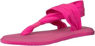 Sanuk Women's Yoga Sling 2 Solid Vintage Flip-Flop Cabaret 05 M US