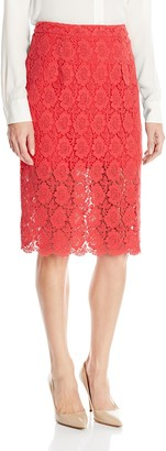 Ark & Co Women's Lace Pencil Skirt