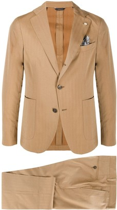 Manuel Ritz Two Piece Single Breasted Suit