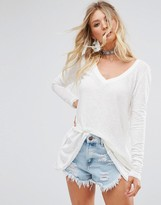 Free People Anna Long Sleeved T-Shirt