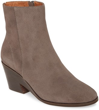 Gentle Souls by Kenneth Cole Neptune Perforated Leather Block Heel Boot