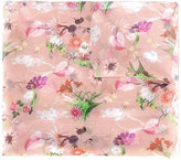 Blumarine floral print scarf - women - Silk - One Size