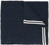 Comme des Garcons contrast stripe scarf