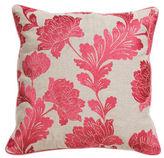 One Kings Lane Bouquet 22x22 Cotton Pillow, Rose
