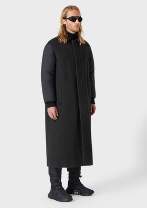 Giorgio Armani Neve Jacket In Water-Repellent Cashmere