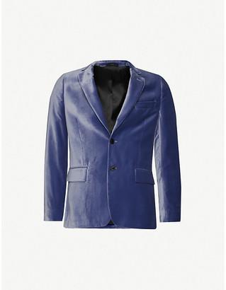 Paul Smith Peak-lapel velvet jacket