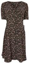 Topshop MATERNITY Corset Side Midi Dress