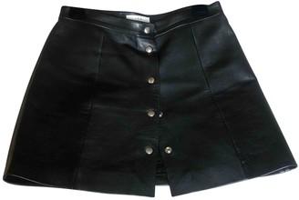 IRO Black Leather Skirts