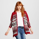 Women's Holiday Patterned Pullover Tribal Snowflake - Mossimo Supply Co.(Juniors')