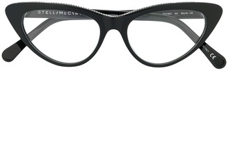 Stella McCartney Cat Eye Frame Glasses
