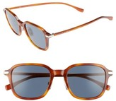 BOSS Men's 0909S 51Mm Sunglasses - Light Havana/ Blue
